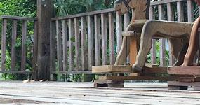 Ošetření dřevěných teras pomocí olejů Scandiccare